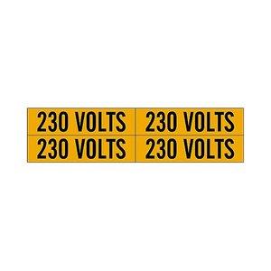 Brady 44208 Conduit & Voltage Marker