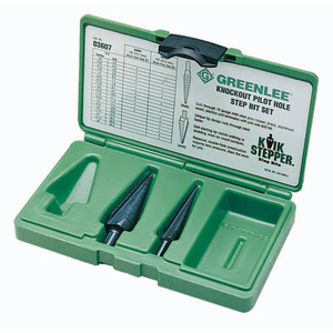 Greenlee 03607 Kit-step Bit #1 & #3 (03607)