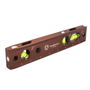"Maxis 58-28-18 9"" Lighted Torpedo Level w/ Magnets"