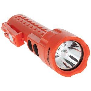 Bayco Products NSP-2422R Dual-Light Flashlight w/Dual Magnets, 130 Lumen, Red