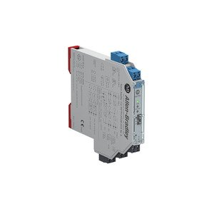 Allen-Bradley 937TH-DISAR-DC2 937 Isolated Barrier, 12.5mm Module (High Density), Digital In I/O Type, Switch Amplifier with Relay Output, 24V DC, Dual Channel