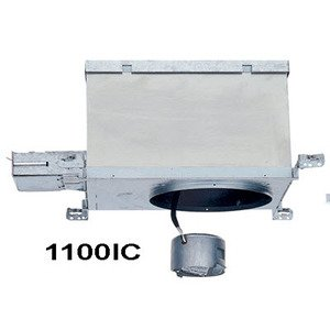 "Lightolier 1100IC Incandescent Housing, Ceiling Fixture, 6"""
