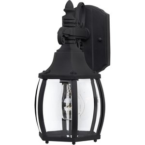 Maxim Lighting 1031BK Outdoor Wall Lantern, 1-Light,  60W, Incandescent, Black
