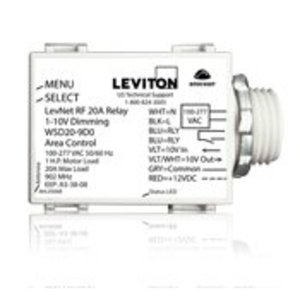 Leviton WSD20-9D0 20 Amp Relay, 1-10V Control