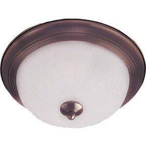 Maxim Lighting 5830FTOI 1-Light Flush Mount Ceiling Fixture, 60W, 120V