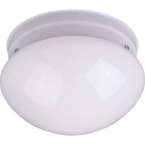 Maxim Lighting 5881WTWT 2-Light Flush Mount Ceiling Fixture, 60W, 120V