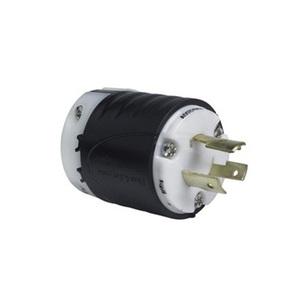 Pass & Seymour L1020-P Locking Plug, 20A, 125/250V, 3P3W
