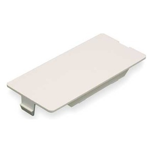 Wiremold 5507B-WH Blank Faceplate / 5500 Series Raceway, PVC, White