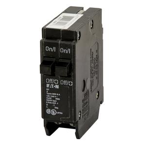 Eaton BD1515 Breaker, Duplex, 15/15A, 1P, 120/240V, 10 kAIC, BD Series