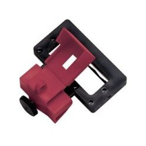 Ideal 44-823 Breaker Lockout, 2/3P, Molded Case, 480/600VAC Breaker, Red/Black