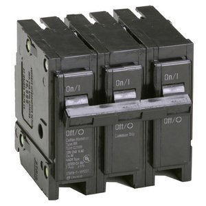 Eaton BR315 Breaker, 15A, 3P, 240V, 10 kAIC