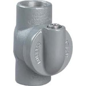 "Hubbell-Killark EYS-2 Sealing Fitting, 3/4"", Vertical/Horizontal, 40% Fill, Aluminum"