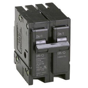 Eaton BR215 Breaker, 15A, 2P, 120/240V, Type BR, 10 kAIC