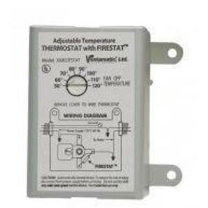 Venture Lighting XXFIRESTAT Adjustable Thermostat w/ Firestat, 10A