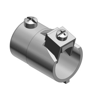 """Thomas & Betts 505-TB Combination Coupling, EMT to Flex, 1"""" to 1"""", Malleable Iron"""