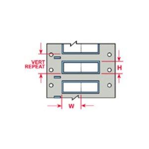 Brady PS-500-2-WT-S 0.500 In (12.70 Mm) Diameter