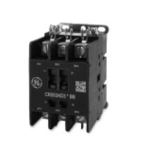 GE CR553AD3ABB Contactor, Definite Purpose, 3P, 40A, 120VAC Coil, Open