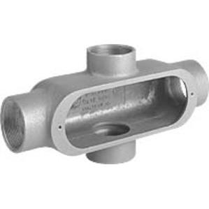 "Hubbell-Killark OX-1 1/2"" Alum Conduit Body Type X"