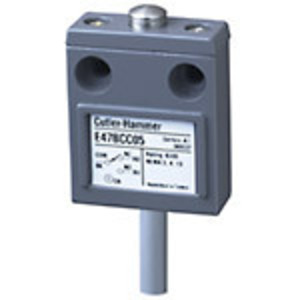 Eaton E47BCC05 Limit Switch, Compact, Prewired, Pin Plunger, 600V