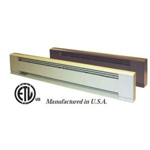 TPI H391048 Electric Hydronic Baseboard Heater, 1000W, 240V