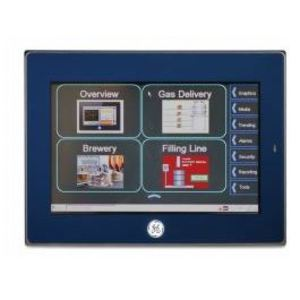 "GE IC755CSS06RDA Operator Interface, QuickPanel+, 6"" Color, TFT, 24VDC, Resistive"