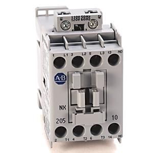 Allen-Bradley 100-NX205D Contactor, IEC, Definite Purpose, 15A, 120VAC Coil, 3P, 1NO