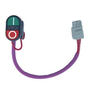 Allen-Bradley 198-SSPB Start-Stop Snap together Momentary Push Button Kit, Plastic Bezel 22.5mm