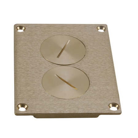 Wiremold - 828SPTC, Covers - Square / Rectangle, Flanges ...
