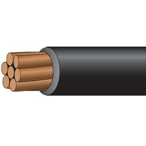 Multiple PVXLPE10STR1KVBLK500RL 10 AWG 1000V Solar PV Wire 500', Black