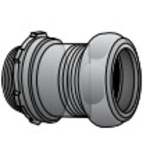 "EGS 7050GSR EMT Compression Connector, Raintight, 1/2"", Steel/Zinc"