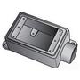 """OZ Gedney FS175 FS Device Box, 1-Gang, Dead-End, Type FS, 3/4"""", Malleable Iron"""