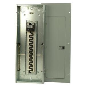 Eaton BR4040B200 Load Center, Main Breaker, 200A, 120/240V, 1P, 40/40, NEMA 1