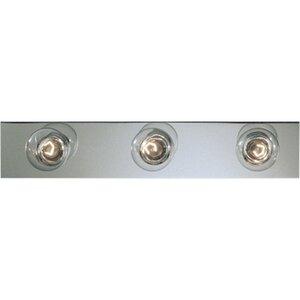 Progress Lighting P3114-15 Bath Light, 3 Light, 60W, Polished Chrome