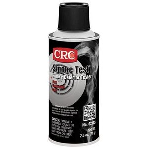 CRC 02105 Smoke Detector Tester - 2.5oz Aerosol Spray Can