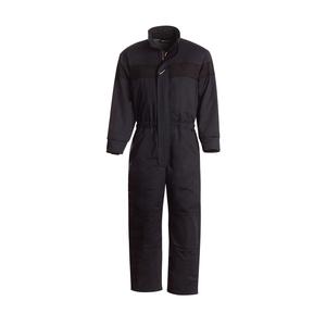 Workrite Uniform 590UT70NB/2XL/L/GE-LOGO UltraSoft Insulated Coverall, Navy Blue, 2XL, Long, GE Logo