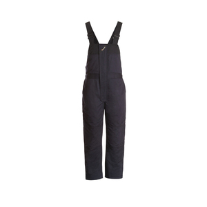 Workrite Uniform 580UT70NB/L UltraSoft Insulated Bib Overall, Navy Blue, Large