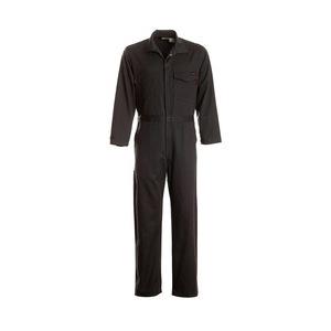 Workrite Uniform 131UT95NB/GE/XL/R Work Coverall, 9.5oz, Ultrasoft, Navy, XL, Regular, GE Logo