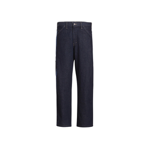 "Workrite Uniform 498AC-14-DN-32X32 Dickies Carpenter Jean, 32"" Waist x 32"" Inseam, Denim"