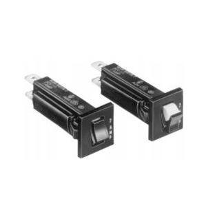 Tyco Electronics 3-1393250-3 20 Amp, 32VDC, 250VAC, Push-To-Reset, Thermal Breaker, W28-XQ1A-20