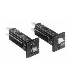 Tyco Electronics 3-1393250-9 6 Amp, 32VDC, 250VAC, Push-To-Reset, Thermal Breaker, W28-XQ1A-6