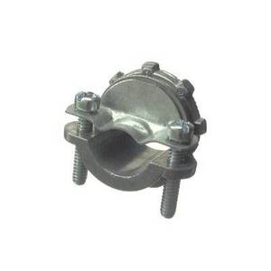"Halex 05107B Clamp Connector For Non-Metallic Cable, 3/4"", Zinc"