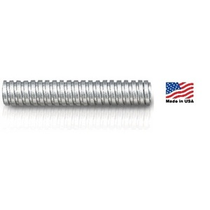 "Electri-Flex 92402 Flexible Steel Conduit, Type USL, 1-1/4"", 250'"