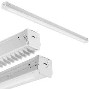 "Lithonia Lighting ZL1NL483000LML/LENSMVOLT40K80CRIMB LED Striplight, 48"", 3000 Lumen, 4000K, 120-277V, 80CRI"