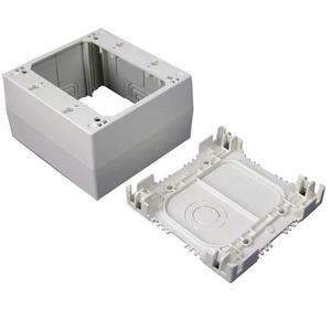 Wiremold NM2044-2 NM2000 Plugmold Extra Deep Device Box, 2-Gang