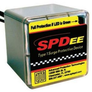 Advanced Protection Technologies S50A277V3YN Surge Suppressor, 50kA, 480Y/277VAC, 3P Wye, N-G Protection