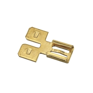 "Ideal 83-9801 Disconnect Adapter, Male to Female, Tab: 0.250 x 0.032"", Brass"