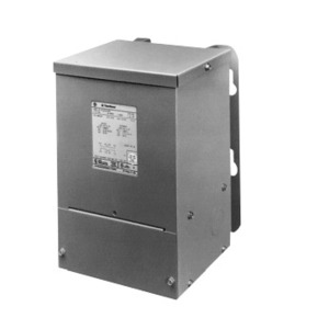 GE 9T51B0090G04 Transformer, Dry Type, Encased, 1KVA, 600 - 120/240, 1PH, Lugs