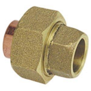 """NIBCO B260100 Union, Type: C x M - Cast, Size: 1/2"""", Copper"""