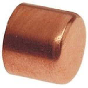 "NIBCO 9172700 Tube Cap, Type: C - WROT, Size: 3/4"", Copper"