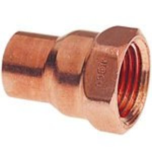 "NIBCO 9025900 Female Adapter, Type: C x F - WROT, Size: 1-1/2"", Copper"